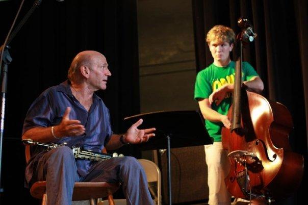 Dave Liebman Workshop. Photo by Ben Kimmerle.