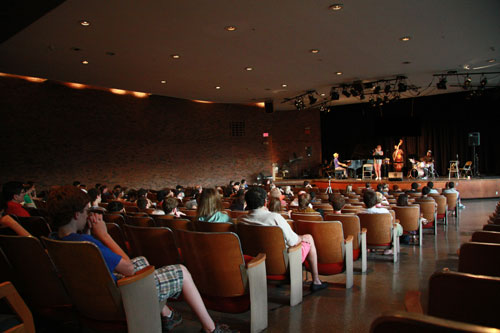Faculty Concert. Photo by Ben Kimmerle.